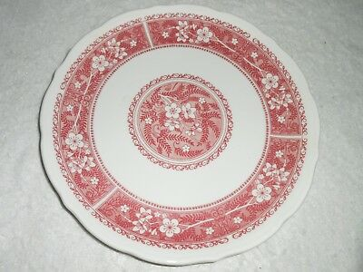 "Vintage Syracuse China Strawberry Hill Dinner Plate 10"" 21-D Never Used"