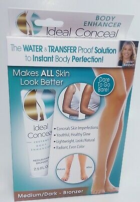 Ideal Conceal Instant Body Makeup Cream Enhancer Medium/Dark