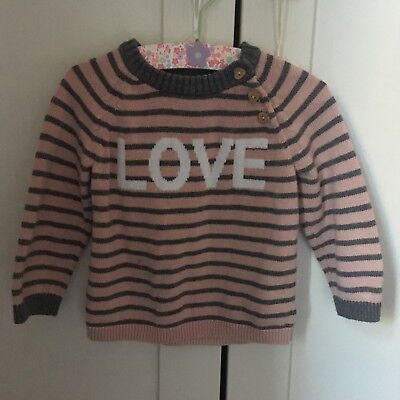 Girls H&M Jumper 6-9 Months