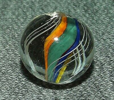 """VINTAGE MARBLES ENGLISH COLOR ODD DIVIDED CORE 5/8"""" - 16mm"""