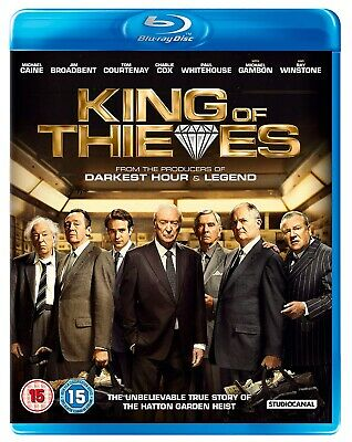 King of Thieves (Blu-ray) ***New & Sealed***
