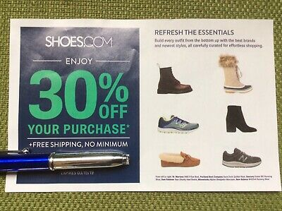 30% Off Your Purchase at Shoes.com Coupon Code Exp 3/15/19 E-Delivery