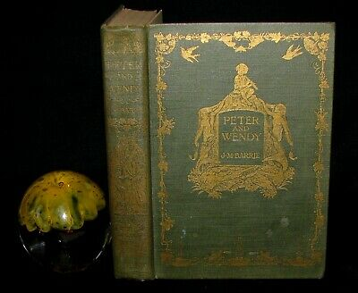 1911 Rare Book - Peter Pan First Edition - Peter and Wendy by J.M. Barrie