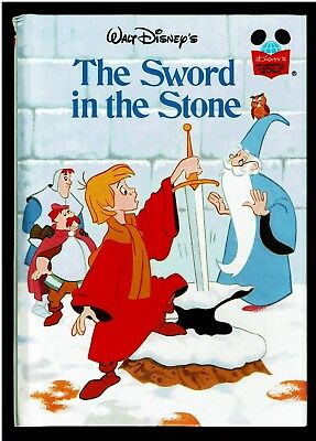 THE SWORD IN THE STONE ~ Disney's Wonderful World Of Reading Book