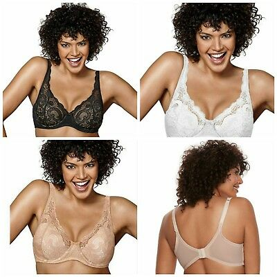 b9afe71f3d NWT Playtex Love My Curves Lift Lightly Lined Full-Figure Underwire Bra   4514