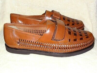 62acef8545f ~NEW~ Men s Deer Stags Haband Casual Weave Leather Loafer sz ...