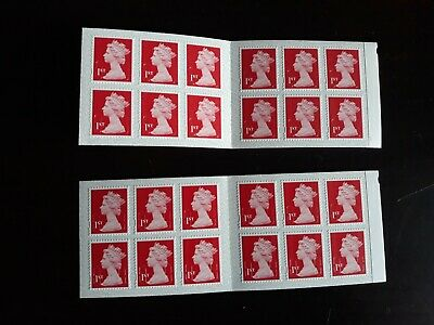 24 X New Royal Mail 1St Class Stamps (Free Postage)