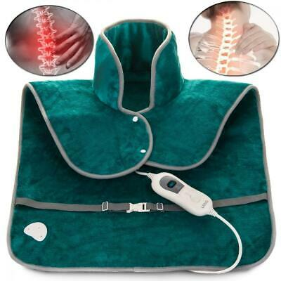 Fineway Electric Fleece Neck, Shoulder & Back Thermal Heating Collar Pad -...