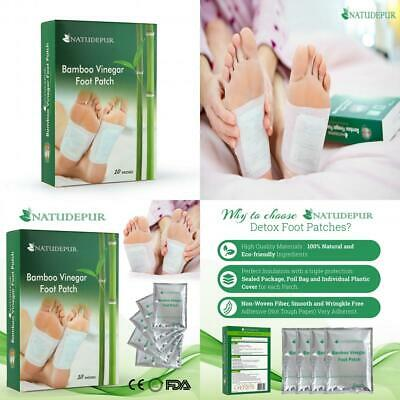 Foot Detox Pads, Patches, 100% Natural Organic - NATUDEPUR® - Remove Body...