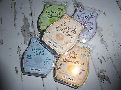 Scentsy wax bars, Hygge Wax 5 scent collection, limited edition, new
