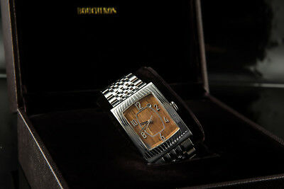 Boucheron Xl Grand Millesime 100 Years Old French Oak Dial Men Watch Msrp $15800