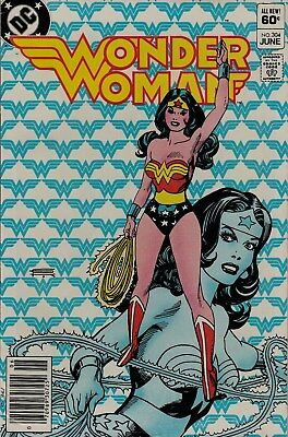 Wonder Woman #304 (Jun.1983) F condition. Off-white pages. Feat. Dr. Polaris !