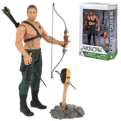 Dc Arrow Tv Series: Oliver Queen Dc Collectibles Action Figure Bnisb