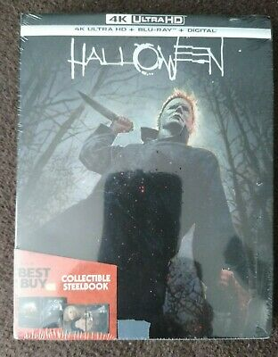 Halloween Steelbook 2018 (4K UHD/Blu-Ray/Digital) New Sealed Dent Best Buy