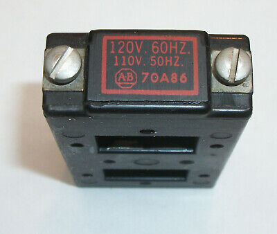 Allen Bradley Relay Coil #70A86 - 120 Volt Ac - Free Shipping To Us Addresses