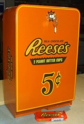 reese's peanut butter cups theme vending machine diner arcade candy