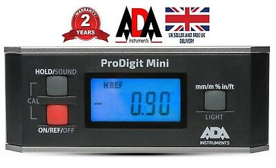 Digital 360 Angle Gauge Inclinometer Protractor Electronic Level Finder Meter