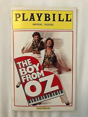 The Boy From Oz Playbill