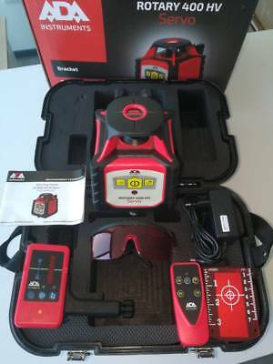 400M Rotary Laser Level Kit 360 Degree Self Leveling Remote Control Survey ADA