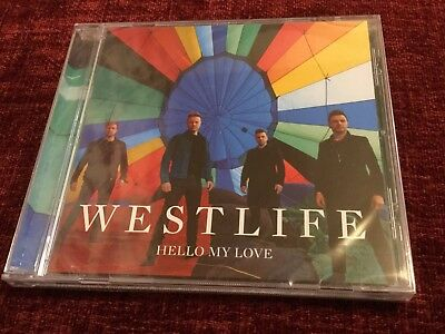 Westlife, Hello My Love, CD Single, Limited Edition, Factory Sealed