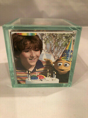 Actual Prop Used In Muppet Movie Photo Cube Jason Segel Very Rare Kermit Henson