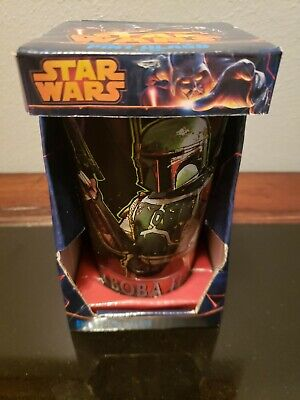Star Wars Boba Fett Pint Glass  16 Oz  Collectible New In Box