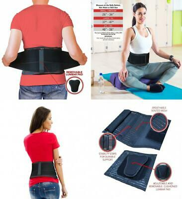 AidBrace Back Brace Support Belt - Helps Men & Women Relieve Lower Pain,...