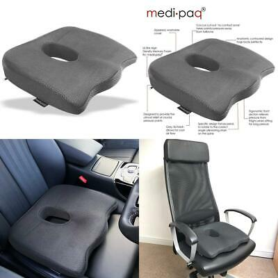 Medipaq - Luxury Orthopaedic Coccyx Seat Cushion - Designed To Relieve...