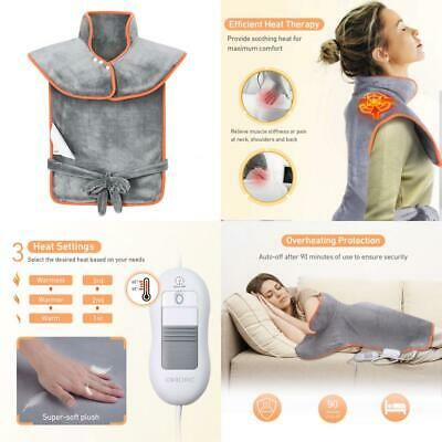 Electric Heat Pads for Pain Relief, OMorc Back Warmer Shoulder Neck, King Size