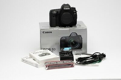 Canon EOS 5D Mark IV 30.4MP Digital SLR Camera-FREE SHIPPING-LOW SHUTTER COUNT!