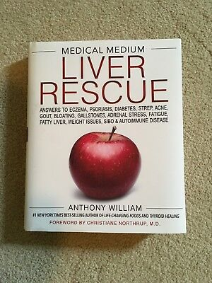 Medical Medium Liver Rescue by Anthony Williams NY Times Best seller brand new
