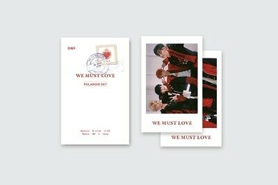 ONF Official Goods - Polaroid Photo Set (We Must Love)