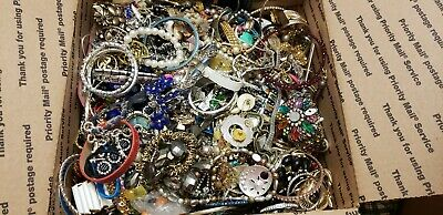 HUGe 20 lbs Vintage & Modern Jewelry Repair Craft Harvest Lot