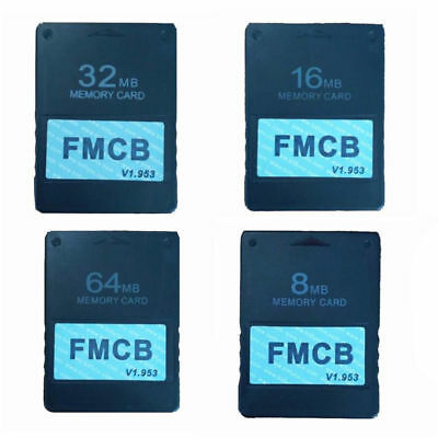 Free McBoot FMCB 8MB/16MB/32MB/64MB Memory Card v1.953 for Sony Playstation2 PS2