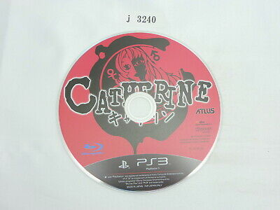 j3240 Catherine PS3 Japanese Disc Only Sony PlayStation Video Game