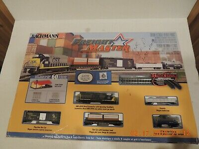 N Scale Bachmann Freight master train Set with EZ track system