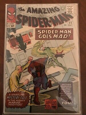 The Amazing Spider-Man # 24 Silver Age 1963 series