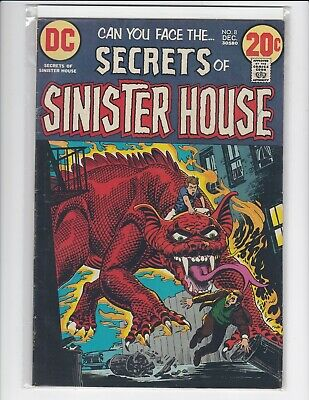 Secrets of Sinister House #18 - DC Horror - 1973
