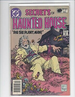 Secrets of Sinister House #43 newsstand - DC Horror - 1981