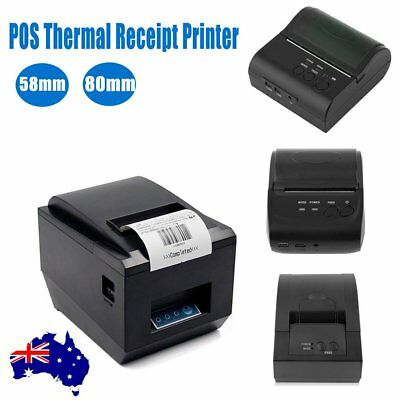 High Speed 80mm Bluetooth Wireless Receipt POS Thermal Printer MJ-8001 0@ I2