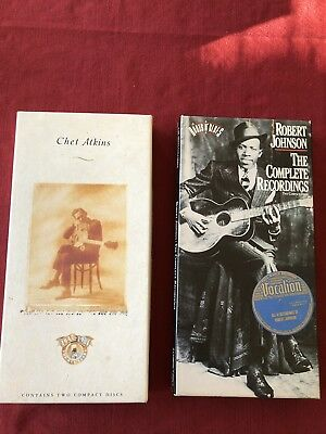 Chet Atkins The RCA Years & Robert Johnson The Complete Recordings Box Sets CD