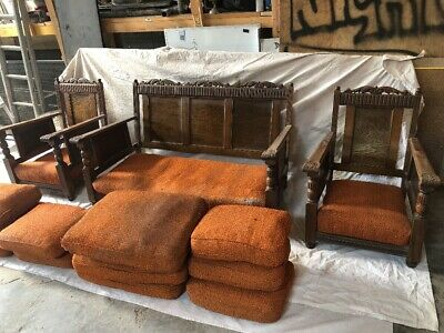 Antique Sofa/Couch and Chaises/Chairs Set