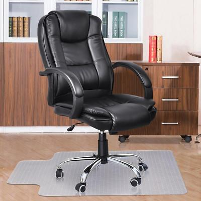 New Carpet Floor Chair Mat Thick Vinyl Protect Plastic Office Work 120 x 90cm 0@