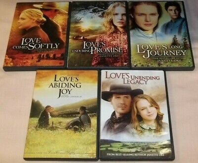 Love Comes Softly Series (5-DVDs) VGC