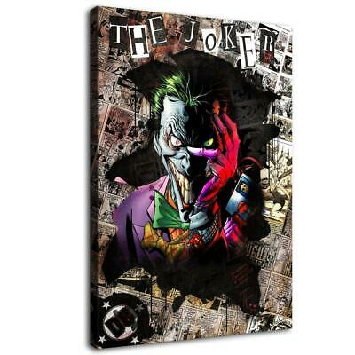 "12""x18""the Joker Poster HD Canva prints Painting Home decor Room Wall art Pictur"