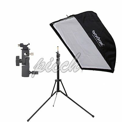 Reverse Folding Photograph​y Light Stand +50*70cm Umbrella Softbox+Bracket