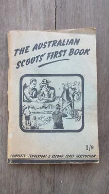 1959 The Australian Scouts' First Book Complete Tenderfoot & Second Class Instru