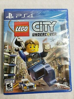 LEGO City Undercover (Sony PlayStation 4, 2017) **Brand New**