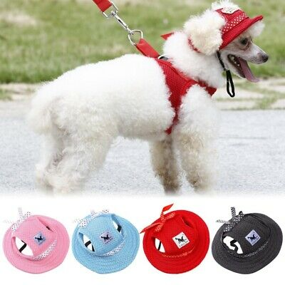 Pet Dog Hat Baseball Cap Sports Windproof Travel Sun Hats for Puppy Dogs S M L