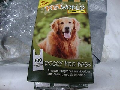 All Qty Fragrance Dog Doggy Poop Pooh Poo Pet Bags Waste 1-1000